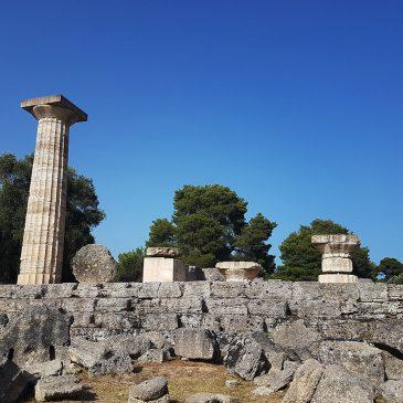 Древняя Олимпия. Статуя Зевса. Чудо света